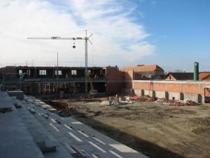 GRAĐEVINSKI RADOVI NA DVORANI ZA KONJIČKE SPORTOVE U 2008. GODINI