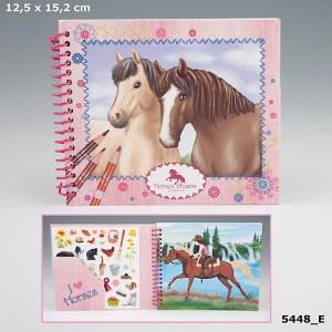 "DŽEPNA BOJANKA ""Horses Dream"" , spiralni uvez / 30,00 kn"