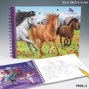 "VELIKA BOJANKA ""Horses Dream"" , spiralni uvez / 55,00 kn"