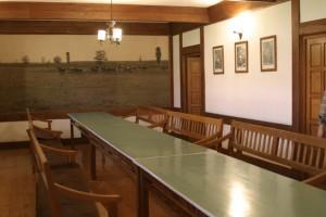 Prostorija za sastanke u autohtonoj zgradi na Ivandvoru